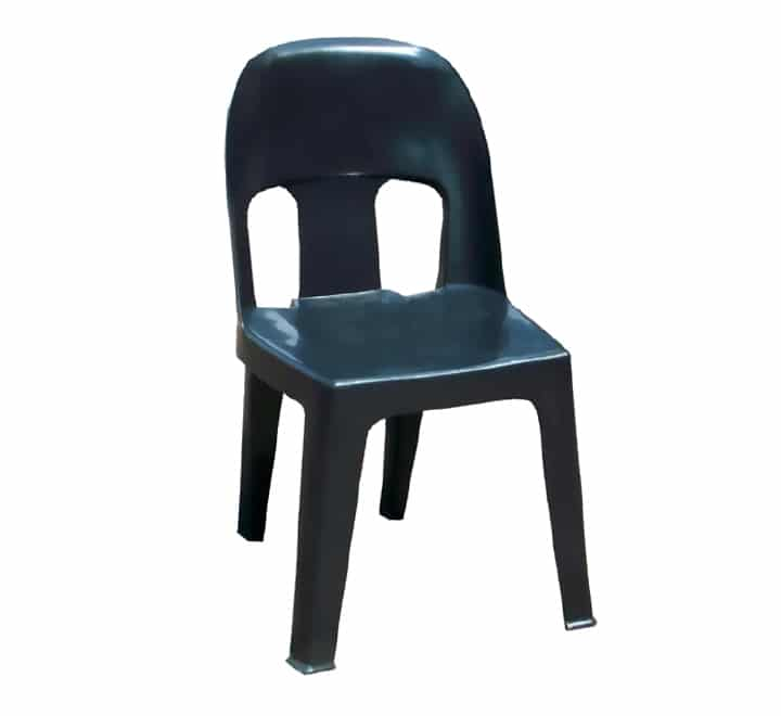 Plastic Party Chair Heavy Duty Black
