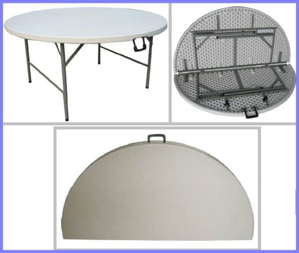 ROUND FOLDING TABLE 160 ( 8-10 SEATER )