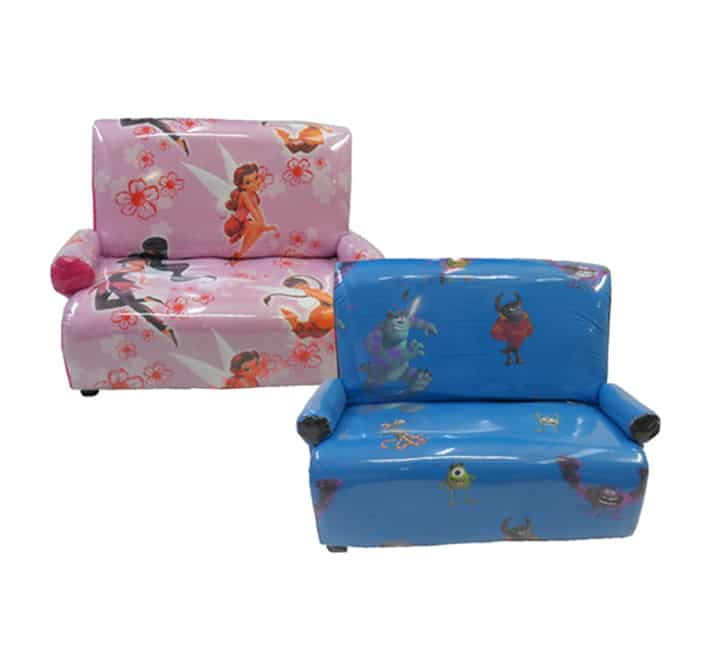 Cool Kiddies 2 Seater Disney Print Couch Bralicious Painted Fabric Chair Ideas Braliciousco