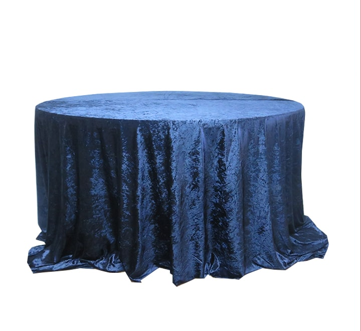 Velvet Round Table Cloths 3m Home In 1, Round Table Cloths