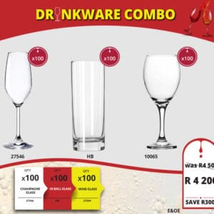 Drinkware Combo