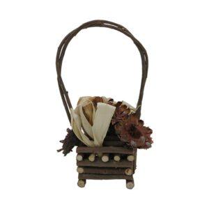 Decorative Wooden Basket