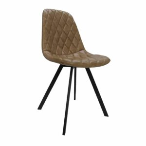 Beige eames padded chair for sale @ homein1