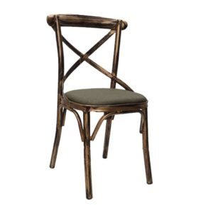 Cross back chair for sale at Home in 1