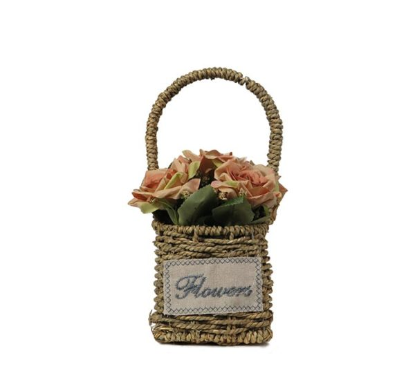 Artificial Flower With Basket