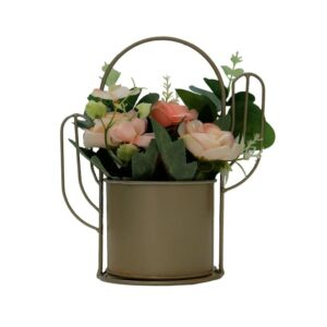 Artificial Flower in a Basket