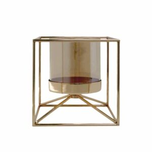 Gold Candle Stand
