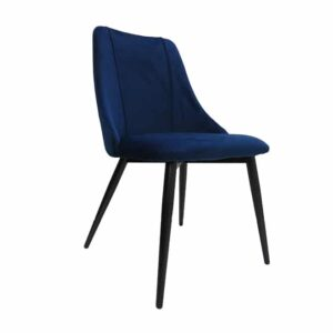 Velvet Padded Dining Chair