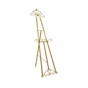 Gold Metal Easel