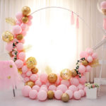 Round Wedding Backdrop 2m