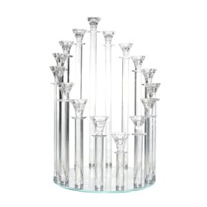 16 Holder Cystal Candle Stand for Sale