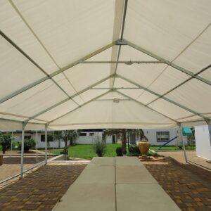 Rectangular Tubing Frame Tent