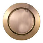 Stainless Steel Underplate Rose Gold