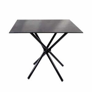 Square Glass Dining Table for Sale