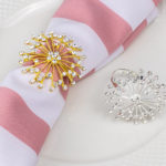 Round Crystal Napkin Ring