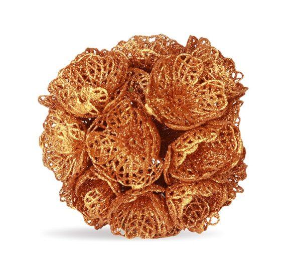 Rose Gold Flower Ball