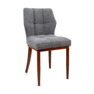 PU Leather Padded Dining Chair