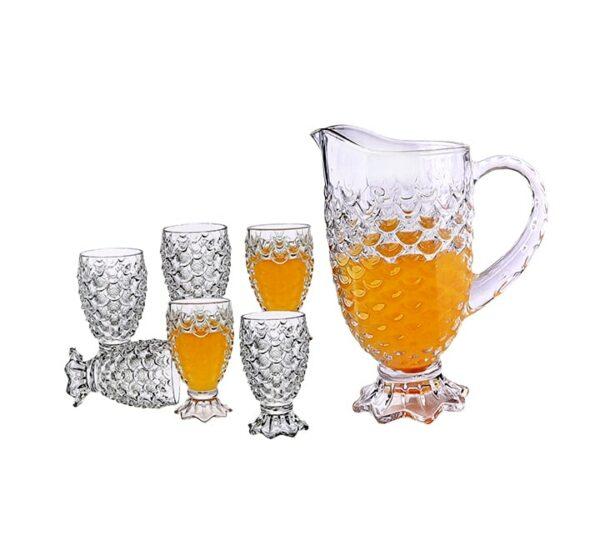 Glass and Jar Set